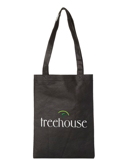 branded eros small non-woven convention tote bag