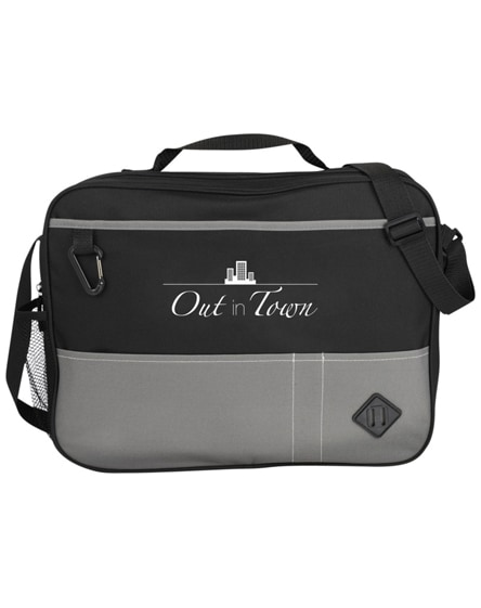 branded hayden conference briefcase