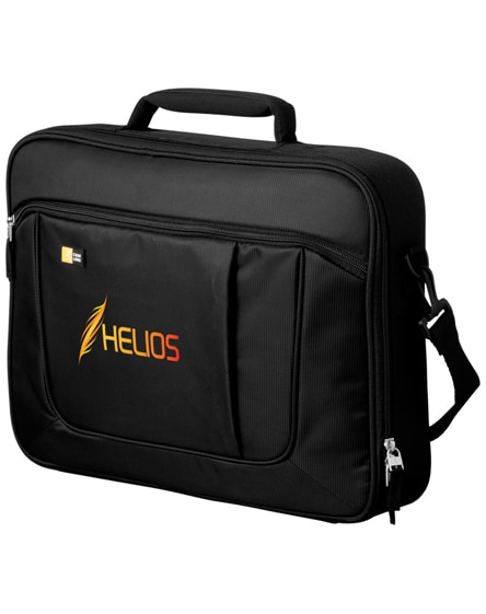 "branded heff 15.6"" laptop and tablet briefcase"