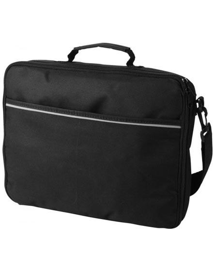 "branded kansas 15.4"" laptop briefcase"