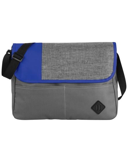 branded offset messenger bag