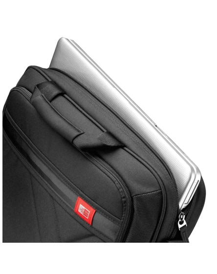"""branded quinn 17"""" laptop and tablet case"""