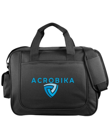 branded the dolphin business briefcase