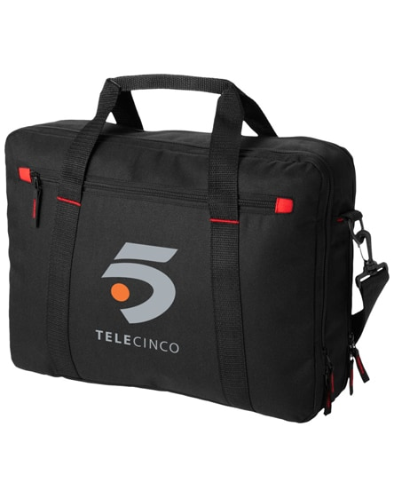 """branded vancouver 15.4"""" extended laptop bag"""