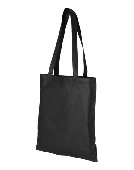 branded zeus large non-woven convention tote bag