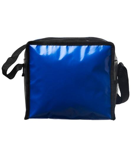 branded cool cube lunch cooler bag with shoulder strap