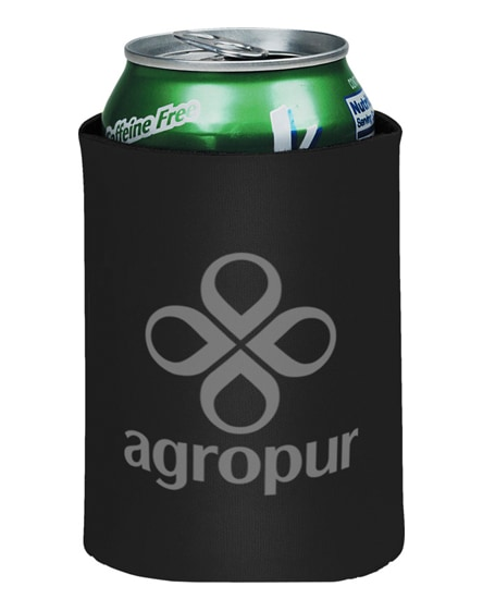 branded crowdio insulated collapsible foam can holder