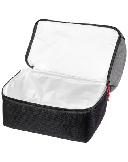 branded dual cube lunch cooler bag