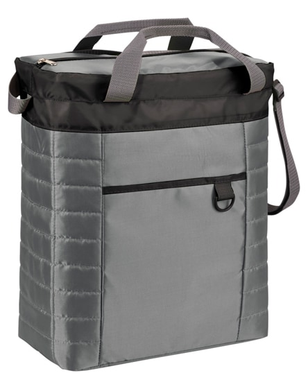 branded imma quilted cooler bag