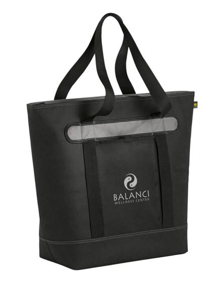 branded lasana 56-can cooler tote bag