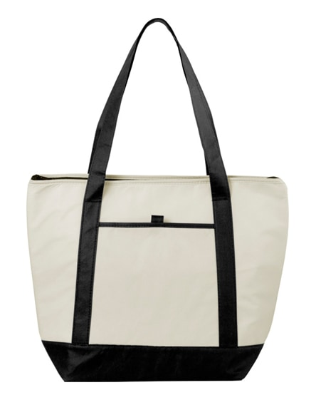 branded lighthouse non-woven cooler tote