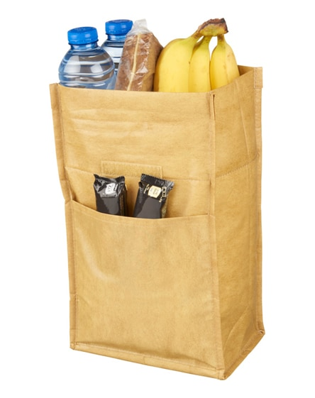 branded papyrus small cooler bag