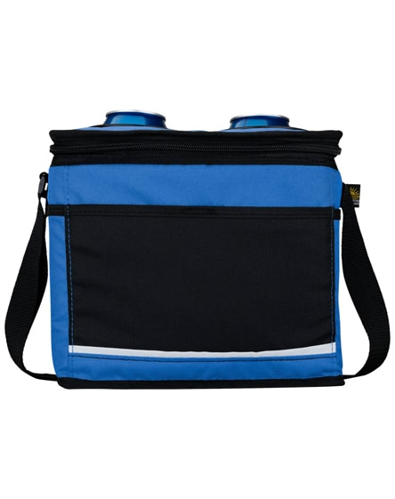branded polluck 12-can cooler bag
