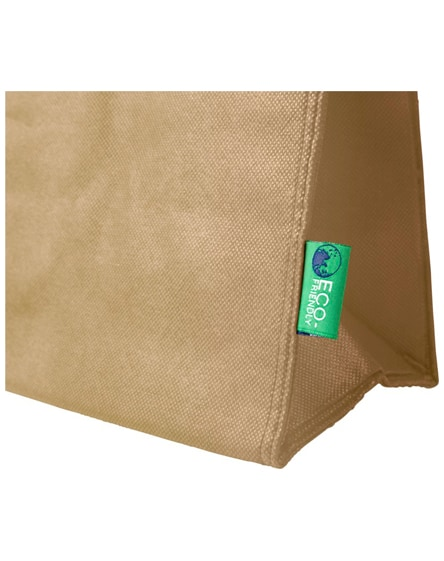 branded triangle non-woven lunch cooler bag