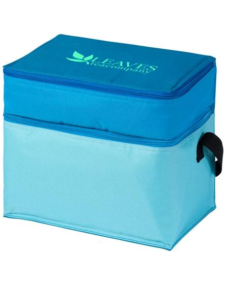 branded trias 2-compartment cooler bag