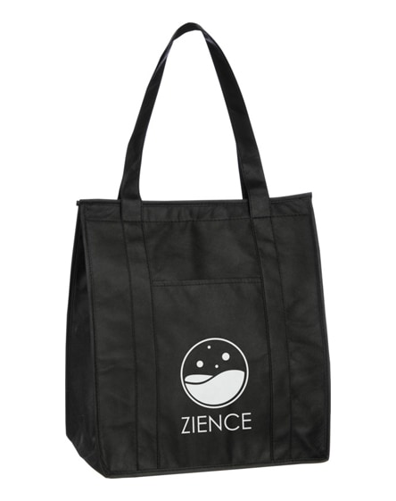 branded zeus insulated cooler tote bag