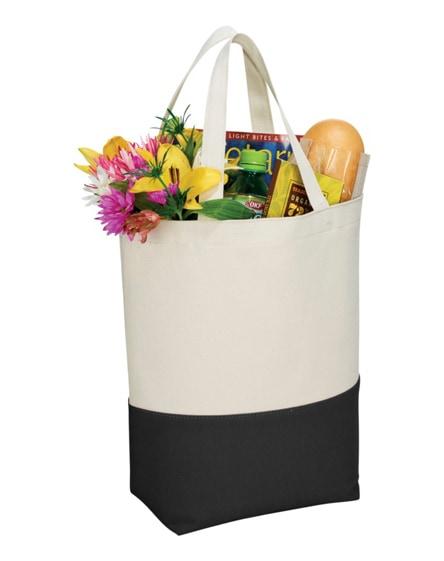 branded colour-pop 284 g/m² cotton tote bag