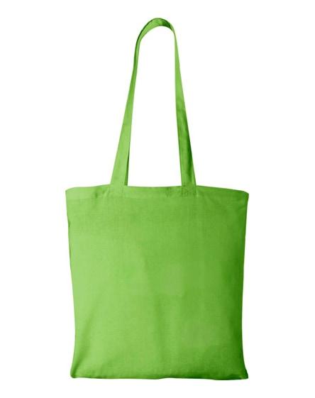 branded madras 140 g/m² cotton tote bag