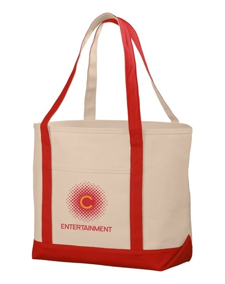 branded premium heavy-weight 610 g/m² cotton tote bag