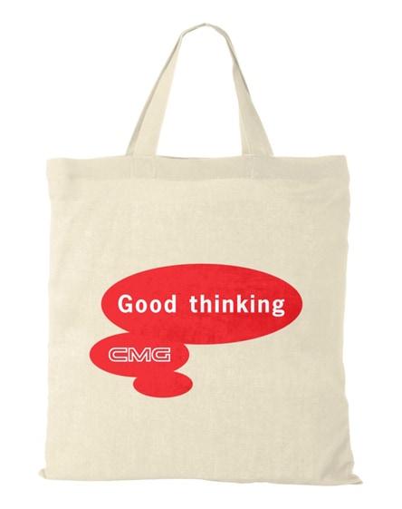 branded virginia 100 g/m² cotton tote bag short handles