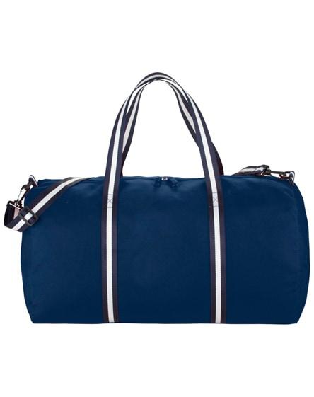 branded weekender cotton travel duffel bag
