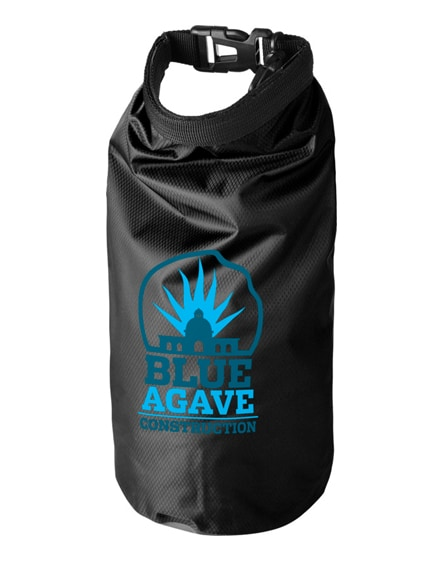 branded tourist 2 litre waterproof bag with phone pouch
