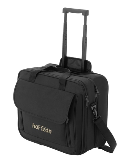 "branded business 15.4"" laptop trolley"