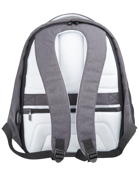 """branded convert 15"""" anti-theft laptop backpack"""