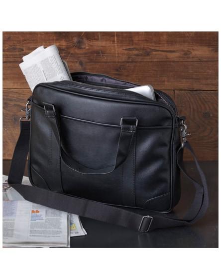 "branded oxford 15.6"" slim laptop briefcase"