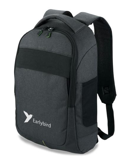 """branded power-strech 15.6"""" laptop backpack"""