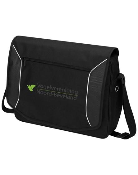 """branded stark-tech 15.6"""" laptop messenger bag"""
