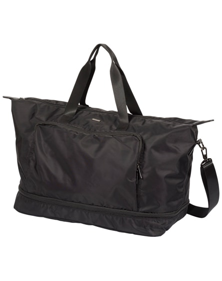 "branded stresa 15"" expandable laptop duffel bag"