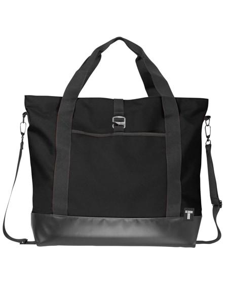 """branded weekender 15"""" laptop tote bag"""
