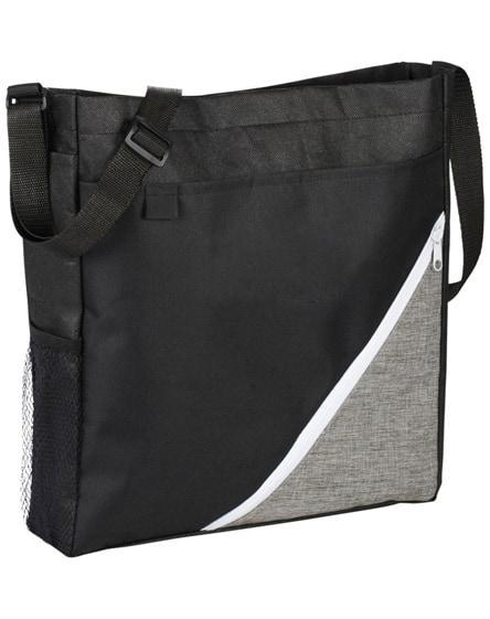 branded corner convention tote bag