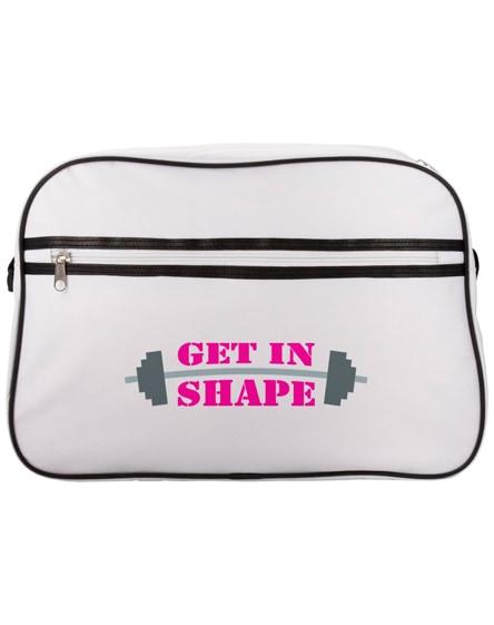 branded sacramento 2-stripe messenger bag