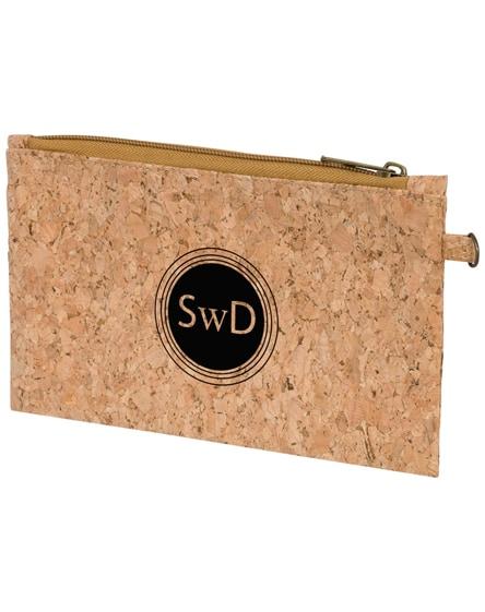 branded napa cork travel pouch