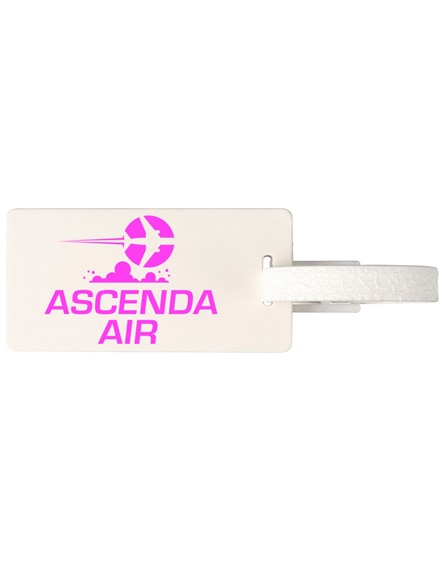branded river window luggage tag