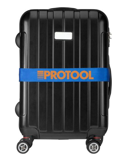 branded saul suitcase strap