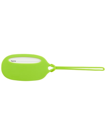 branded silicone luggage tag