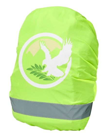 branded william reflective and waterproof bag cover