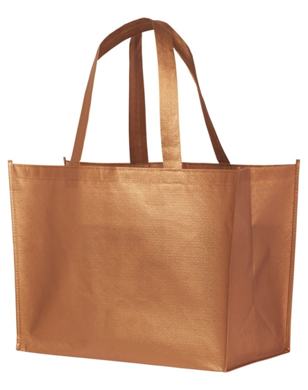 branded alloy laminated non-woven shopping tote bag