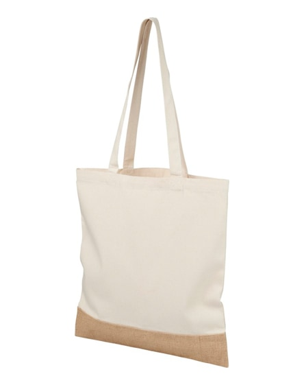 branded delhi cotton jute tote bag