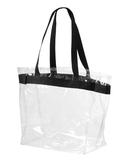 branded hampton transparent tote bag