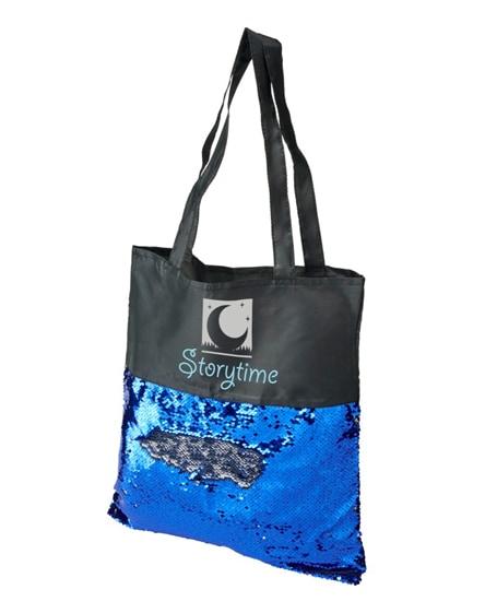 branded mermaid sequin tote bag