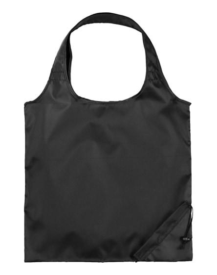 branded packaway shopping tote bag