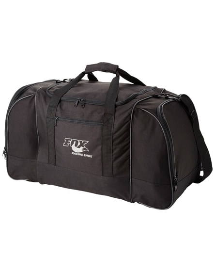 branded nevada travel duffel bag