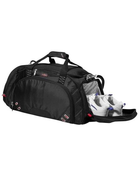 branded proton travel duffel bag