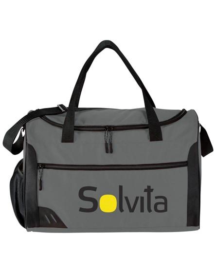 branded rush pvc-free duffel bag