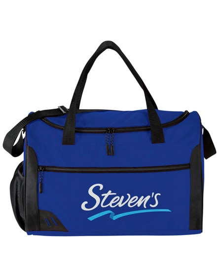 branded rush pvc-free duffel bag