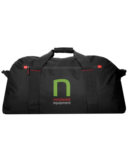 branded vancouver extra large travel duffel bag